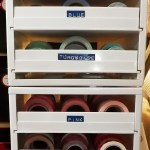 My Final Solution to Washi Tape Storage using the Spice Stack!
