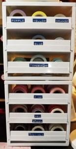 Kat's Washi Tape Storage Solution