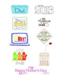 Free Mother's Day and Father's Day Printables