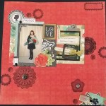 Newest Projects to Share – A Scrapbook Page (Process Video) and Two Cards!
