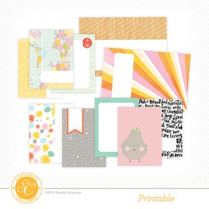 Free Brighton Pier Journaling Cards