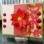 Poinsettia – Christmas Card