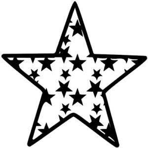 Free Star cut file