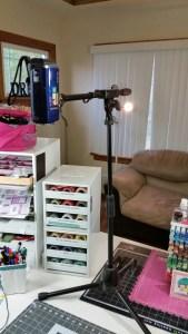 Kat's Video Camera Set Up