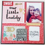 Our Little Buddy – A Scrapbooking Layout Process Video