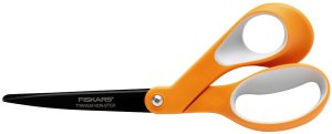 Fiskars 8 Inch Non-stick Titanium Softgrip Scissors