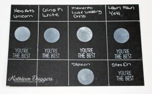 Kat's White Ink Pad Comparison