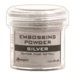 ranger super fine detail silver embossing powder