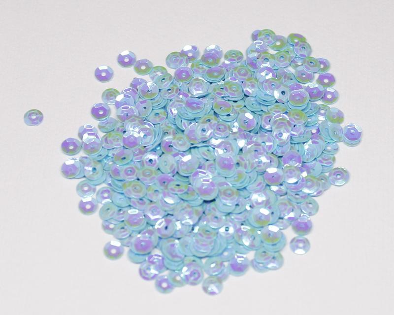 4mm Blue Cotton Candy