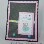 A Purr-fect Blend – Quick & Easy Card Making
