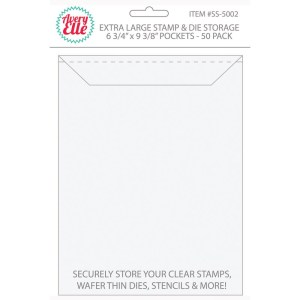 XL Stamp Storage Pockets