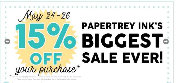 PaperTreyInk Sale!
