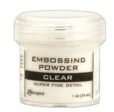 ranger super fine detai clear embossing powder