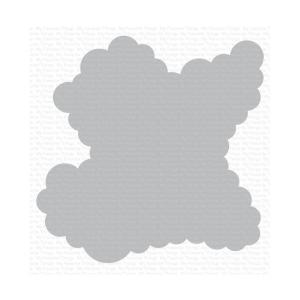 rolling clouds stencil