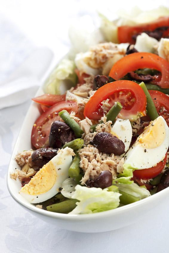 Tuna salad, or Salad Nicoise.