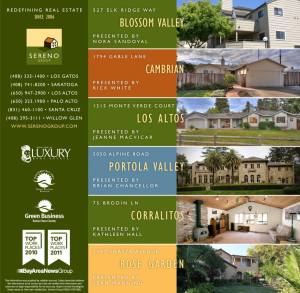 Sereno Group Property Ad, Mercury News Home Previews