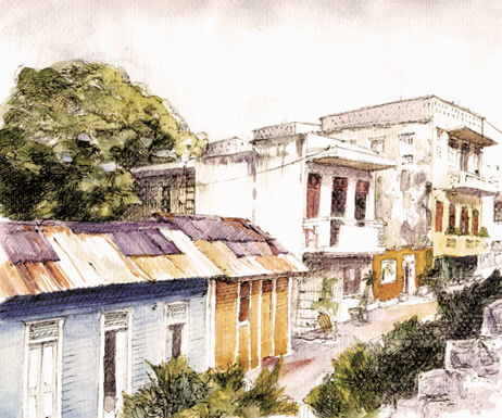 Rusty Roofs, Domincan Republic