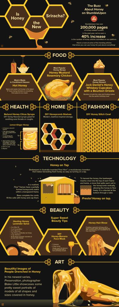 StumbleUpon Honey Infographic