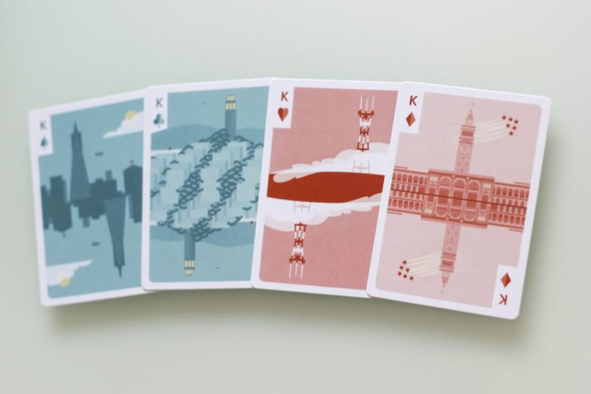 SF Card Deck Kings