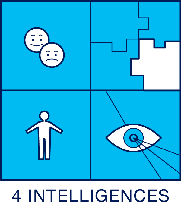 Lumiere Work Icon - 4 Intelligences