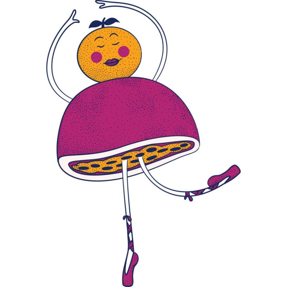 Health-Ade kombucha Passion Fruit Tangerine Ballerina