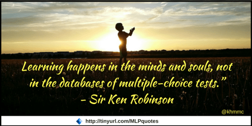 Ken robinson quote