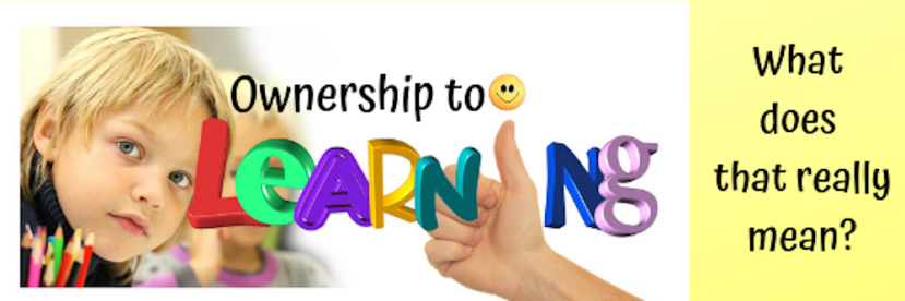 Ownership to learning. what does that really mean