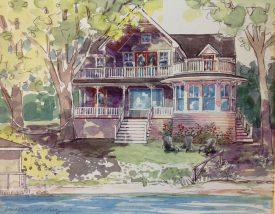 round-porch