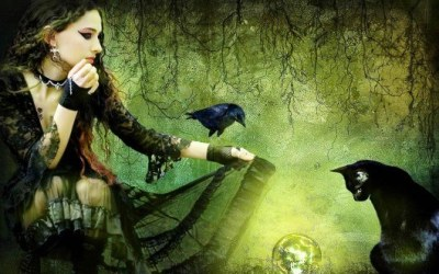 Friday the 13th, Witches, Black Cats & Crows