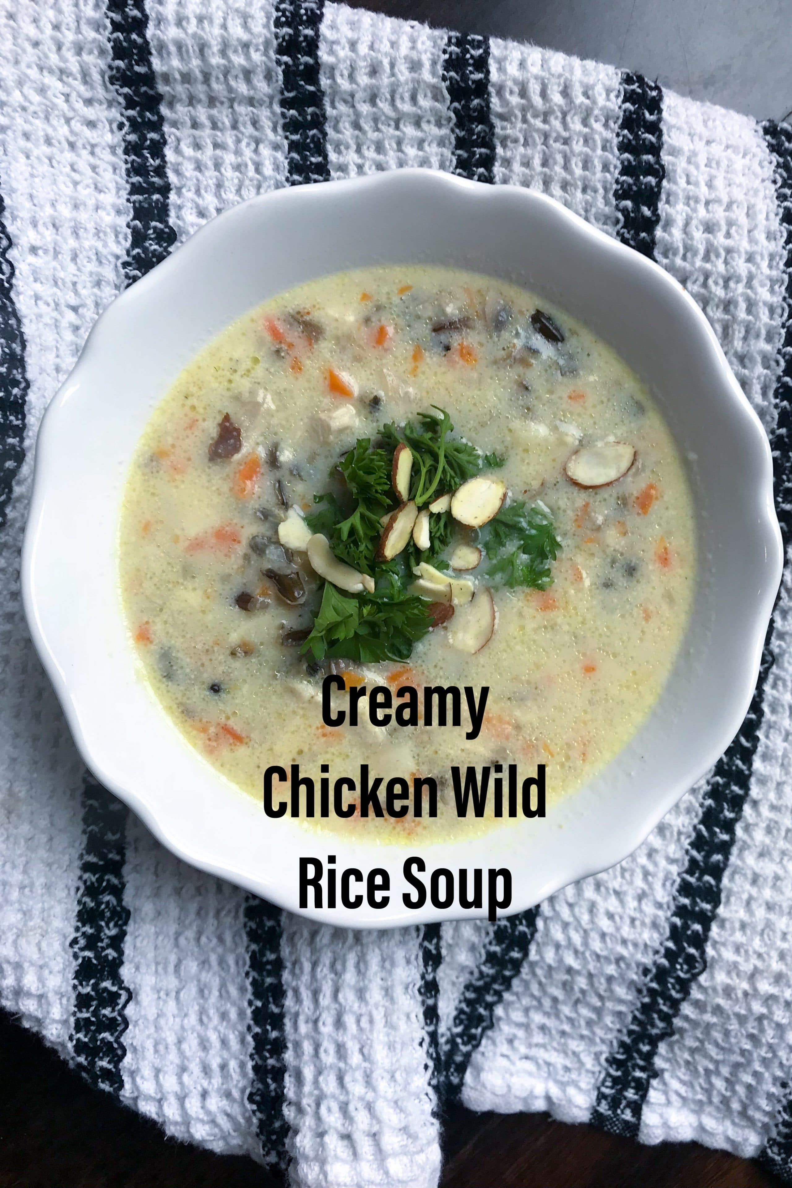 Byerlys creamy chicken wild rice soup recipe