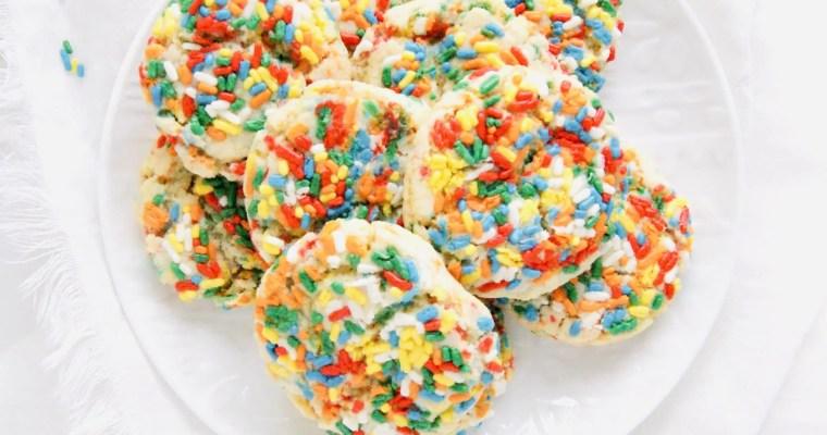 Sprinkle Drop Sugar Cookies