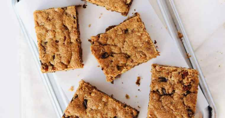 Brown Butter Pecan Blondies