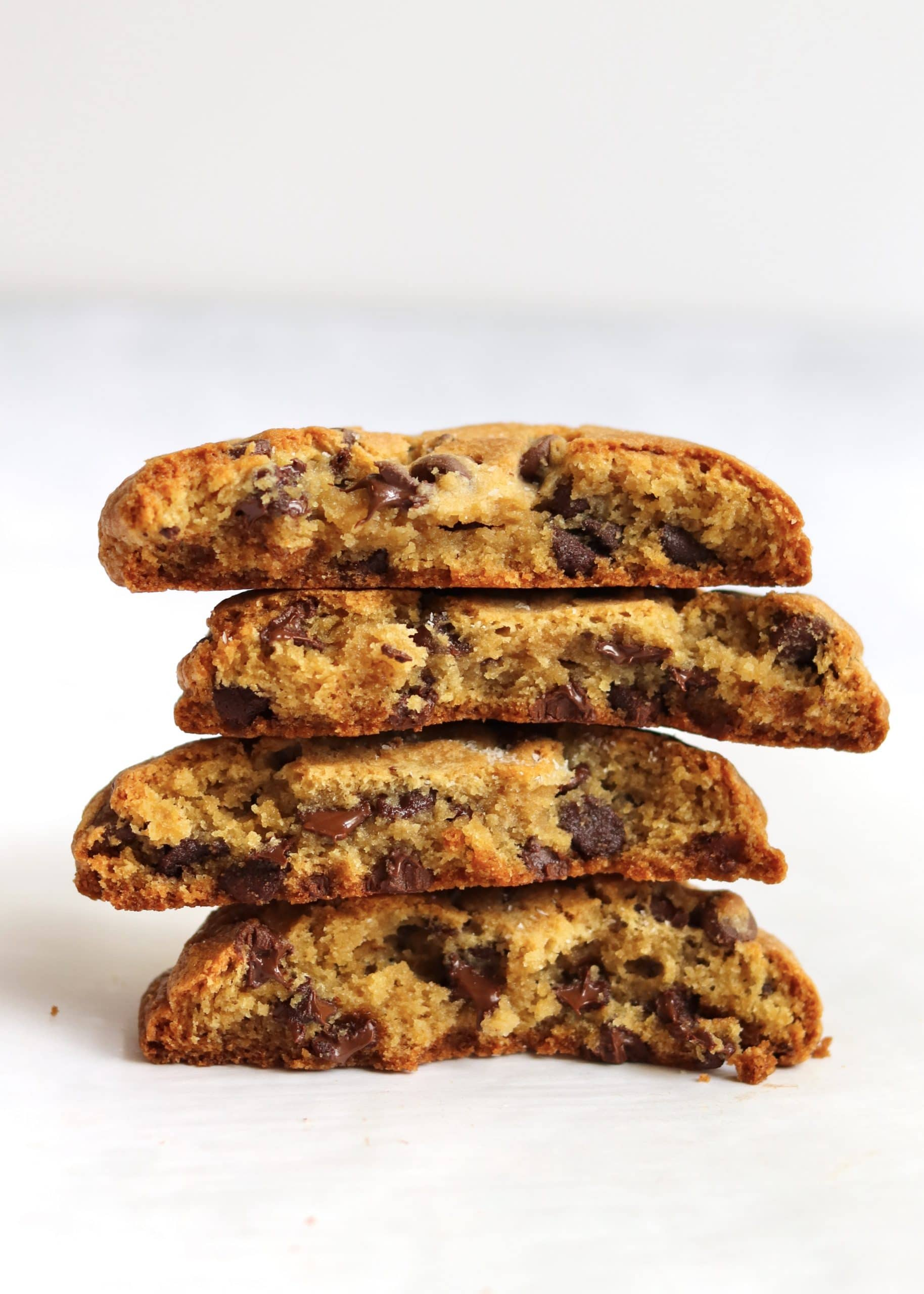 Thick Chocolate Chip Cookies