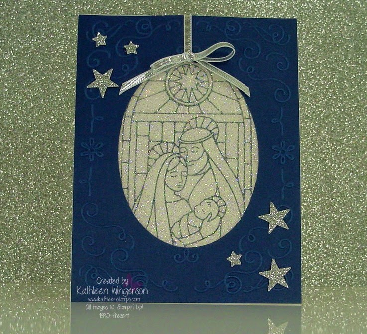 Gentle Peace Christmas Card And Video Stampin Up