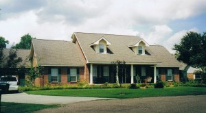 Het huis in Breaux Bridge, Louisiana