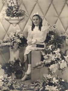 Mijn moeder toen ze primus werd.