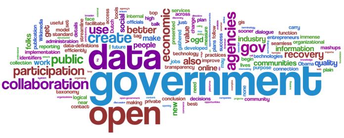 open govt data