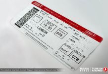Braile Boarding pass