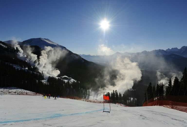Ski racer dead after crash""