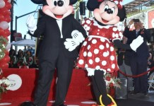 Mickey,Minnie Mouse