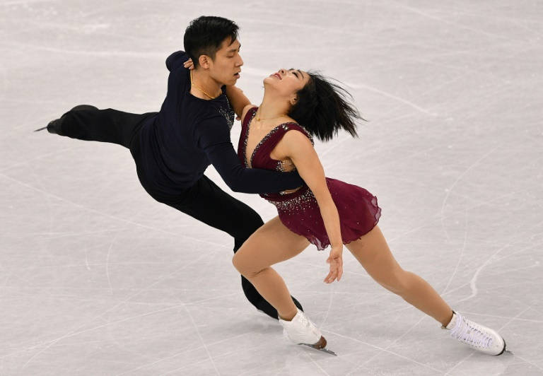 China's Sui and Han lead pairs field, Team USA's Knierims in 14th