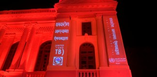 Light up the World in RED to End TB
