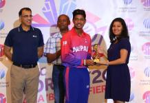 Nepal win the ICC World T20 Asia Qualifier 'B'