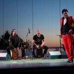 dos cajones flamencos en espectaculo flamenco