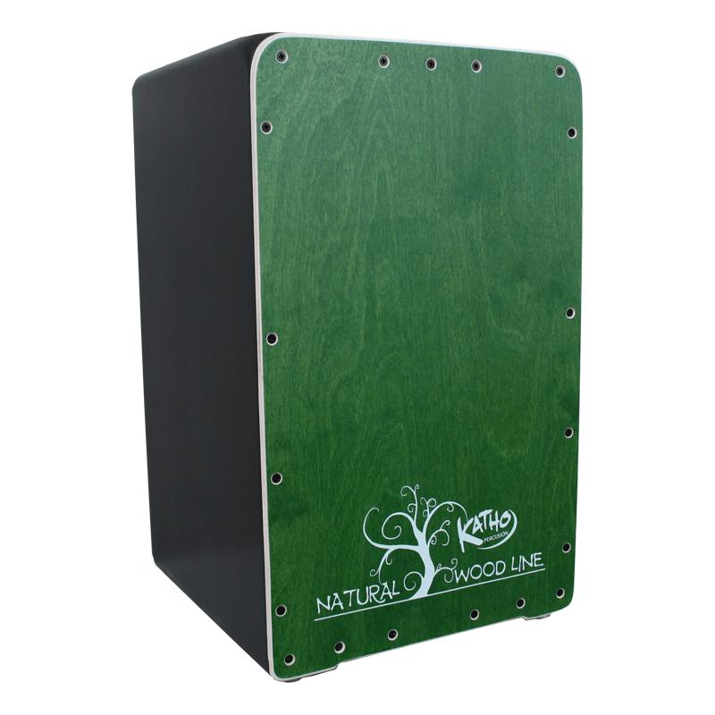 Cajón flamenco Wood line Verde