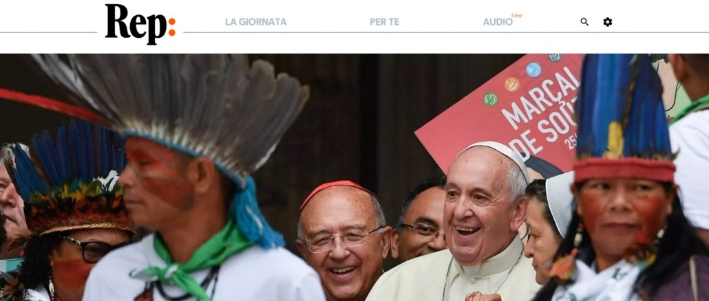Als Begleitmusik zur Amazonassynode zündete Eugenio Scalfari die Atombombe aller Atombomben. Auf dem Weg zum Einen Gott der Welteinheitsreligion müsse Jesus Christus als Sohn Gottes beseitigt werden, doch das sei klein Problem, denn Papst Franziskus vertrete genau dieses Meinung.