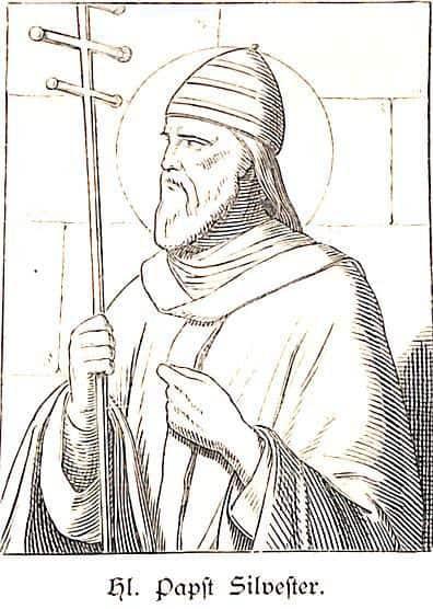 Morgenrot Einer Neuen Zeit Papst Silvester I Katholische