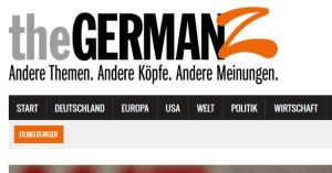 The GermanZ Screenshot der Titelzeile Klick auf das Bild führt zur Seite