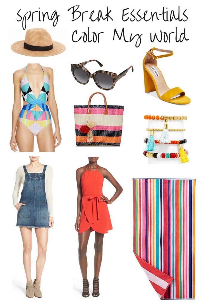 Spring Break Essentials - Color My world - Kathrine Eldridge , Wardrobe Stylist