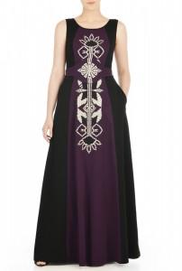 eShakti Graphic Obi Belt Maxi Dress - Kathrine Eldridge, Wardrobe Stylist